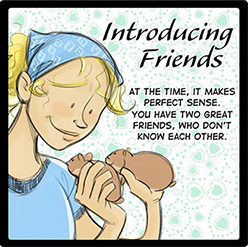 Introducing Friends Comic Thumbnail