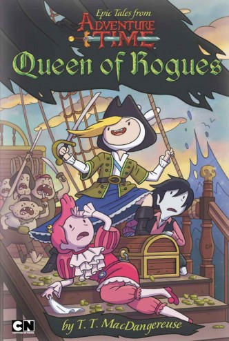 Adventure Time - Queen of Rogues Cover